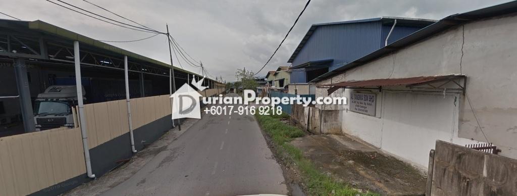 Terrace Factory For Sale at Kampung Baru Sungai Buloh, Sungai Buloh