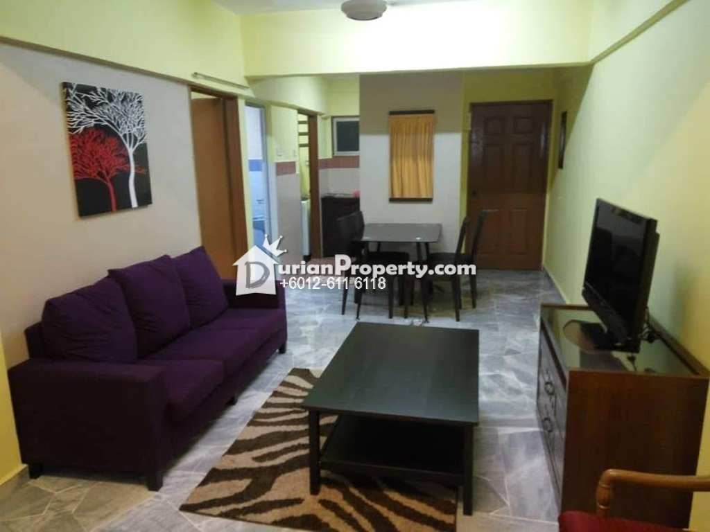 Condo For Rent at Palm Court, Brickfields