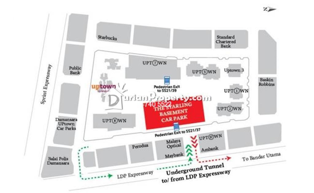 Office For Rent at Uptown Residences, Damansara Utama