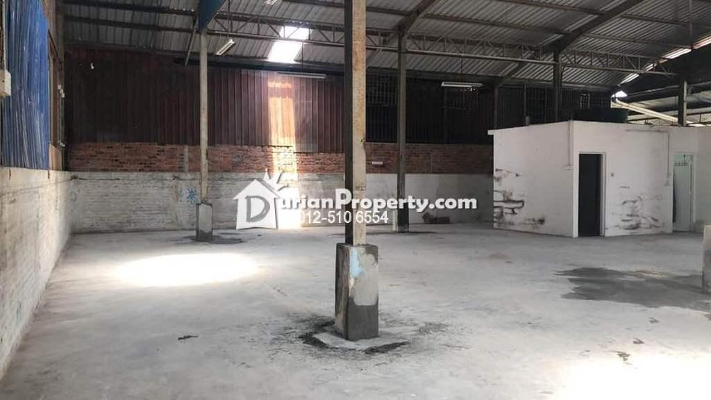 Semi-D Warehouse For Sale at Kawasan Perindustrian Lahat, Lahat