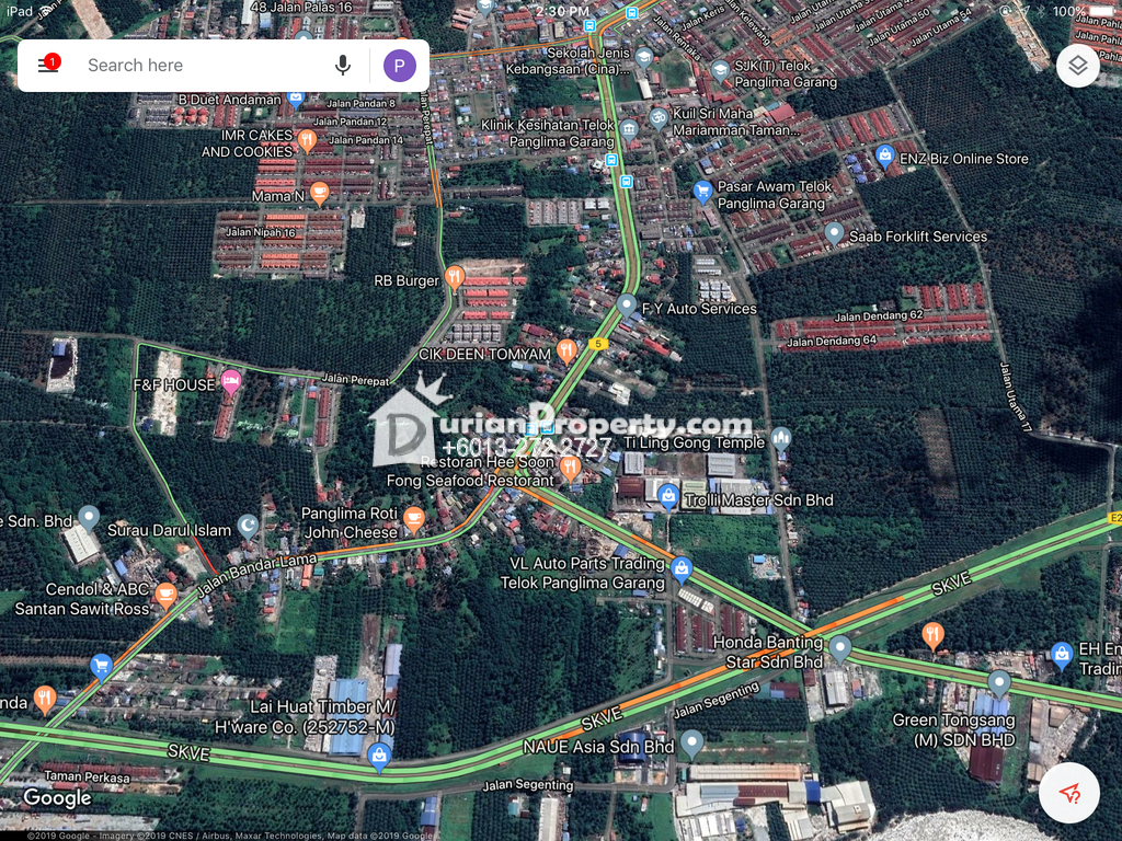 Commercial Land For Sale at Telok Panglima Garang, Selangor