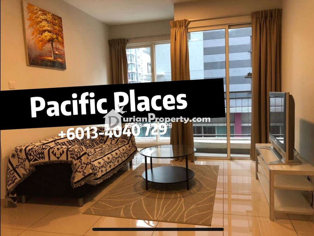 Condo For Rent at Pacific Place, Ara Damansara