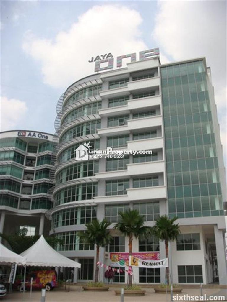 Office For Sale at Jaya One, Petaling Jaya
