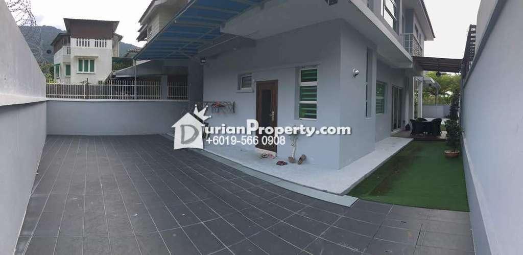 Semi D For Sale at Lembah Permai, Tanjung Bungah