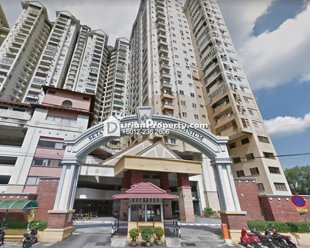 Condo For Rent at Setapak Ria Condominium, Setapak