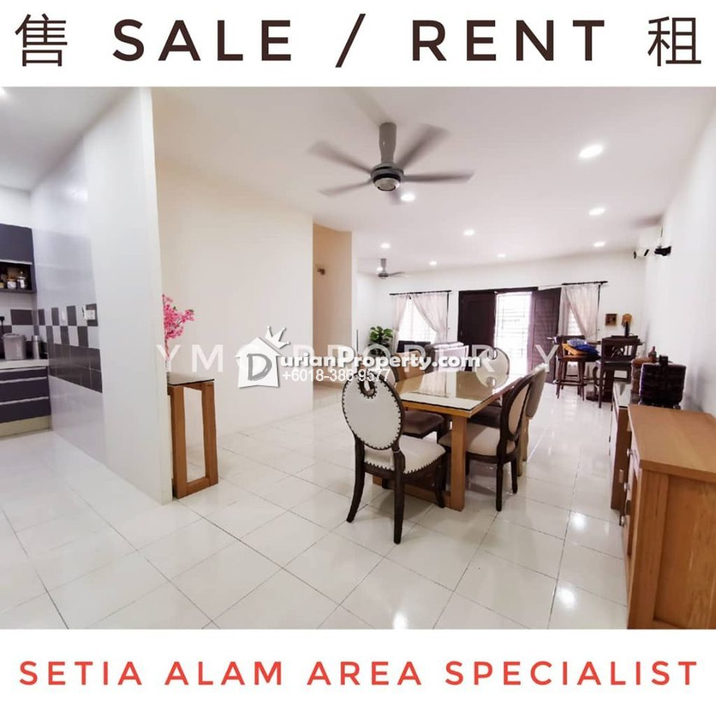 Terrace House For Sale at Setia Indah, Setia Alam
