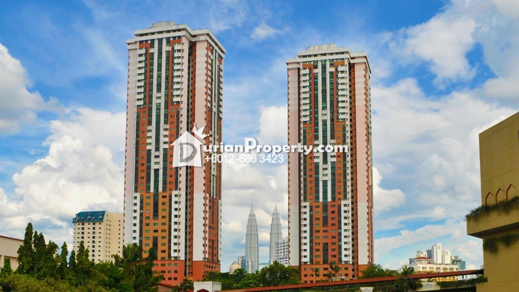 Condo For Rent at Chow Kit, KL City Centre