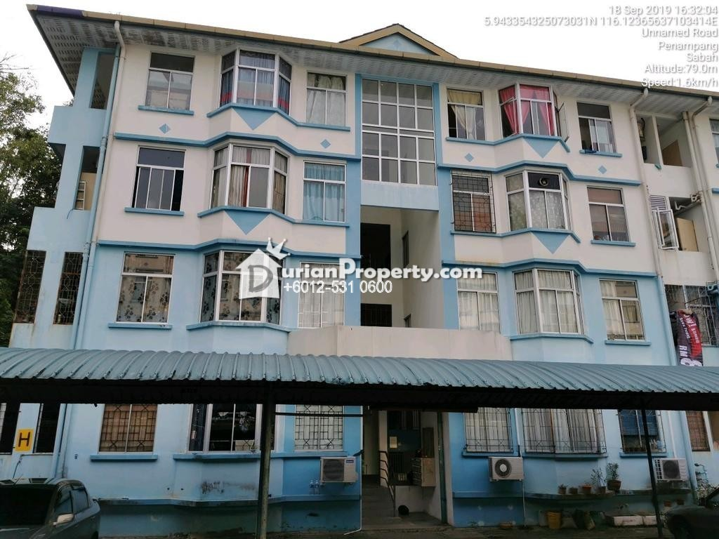 Apartment For Auction at Country Heights Apartments 3, Kota Kinabalu
