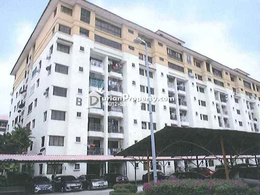 Apartment For Auction at Vista Bayu, Klang