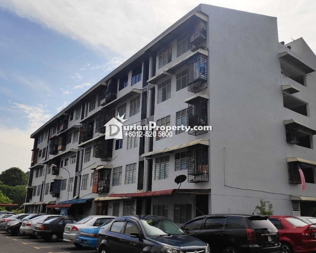 Flat For Auction at Taman Sri Indah, Balik Pulau