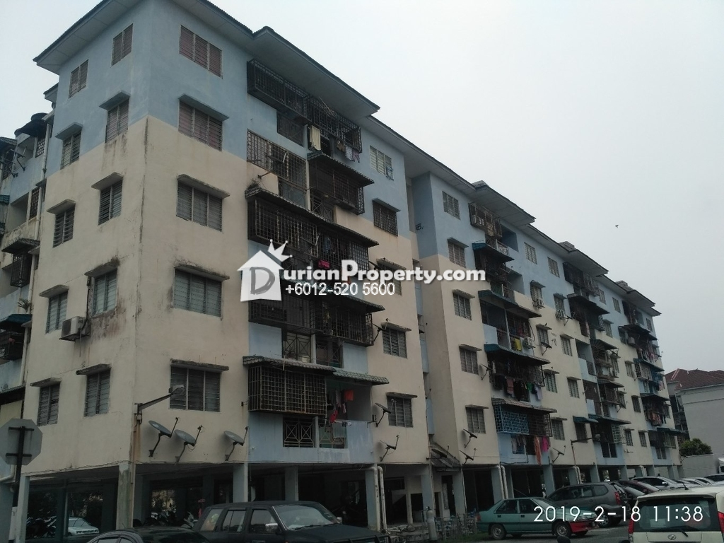Flat For Auction at Pangsapuri Pendekar, Taman Tun Perak