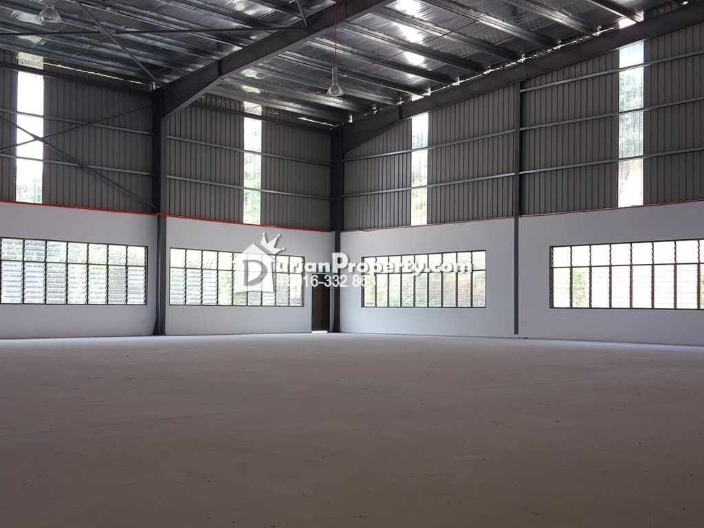 Detached Warehouse For Rent at Kampung Pulau Meranti, Puchong