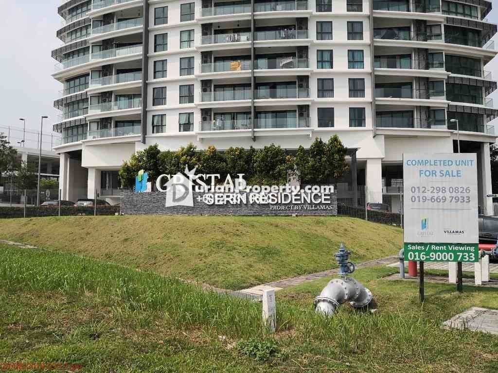 Condo For Auction at Cristal Serin Residence, Cyberjaya