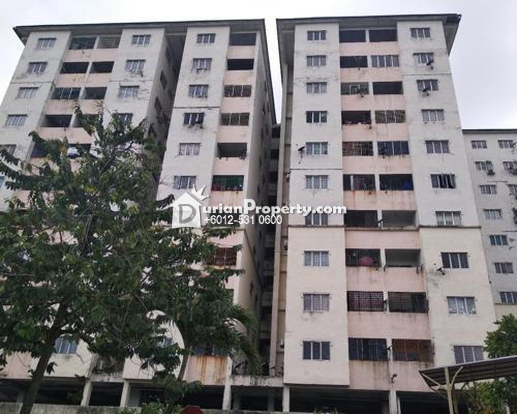 Apartment For Auction at Intan Apartment, Taman Puchong Intan