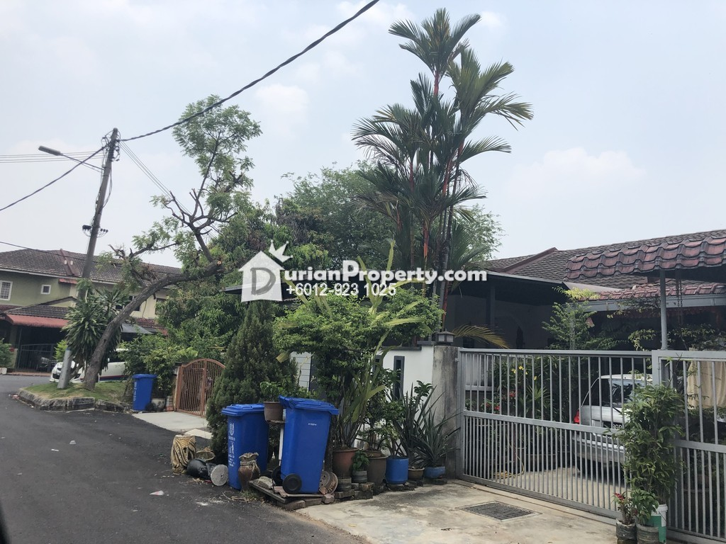Terrace House For Sale at Taman Sri Muda, Shah Alam