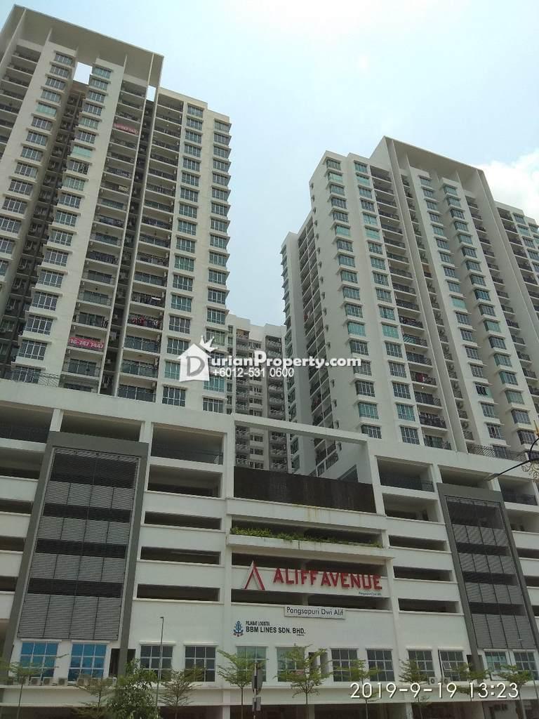 Apartment For Auction at Pangsapuri Dwi Alif, Kawasan Perindustrian Tampoi