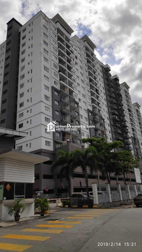 Condo For Auction at Casa Idaman, Jalan Ipoh