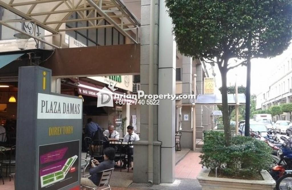 Shop Office For Sale at Plaza Damas 3, Sri Hartamas