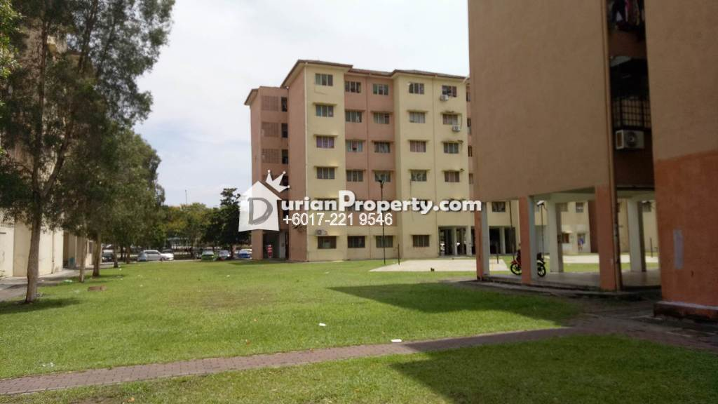Apartment For Rent at Flat Nilam Sari, Shah Alam