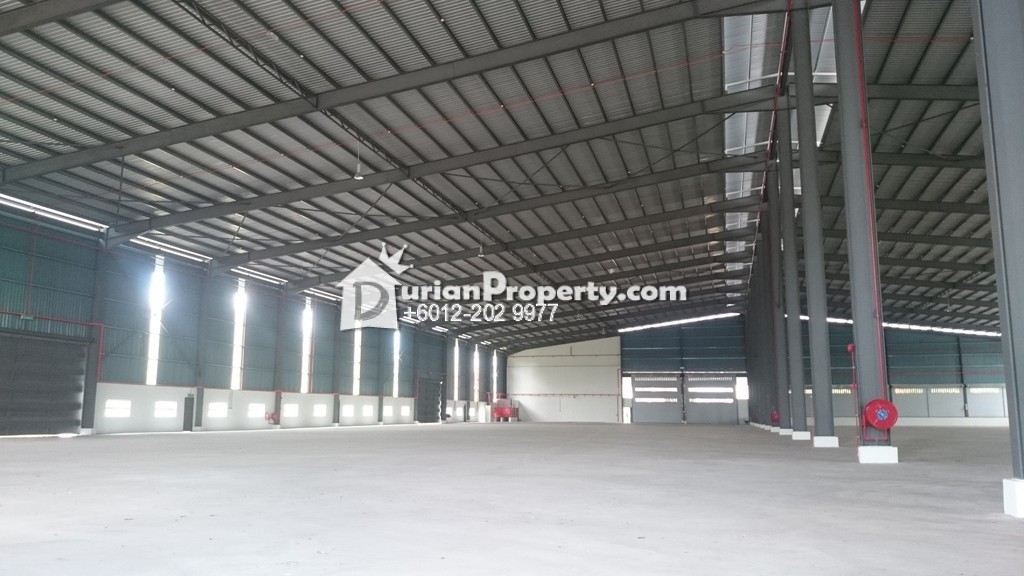 Detached Factory For Rent at Telok Gong Industrial, Port Klang