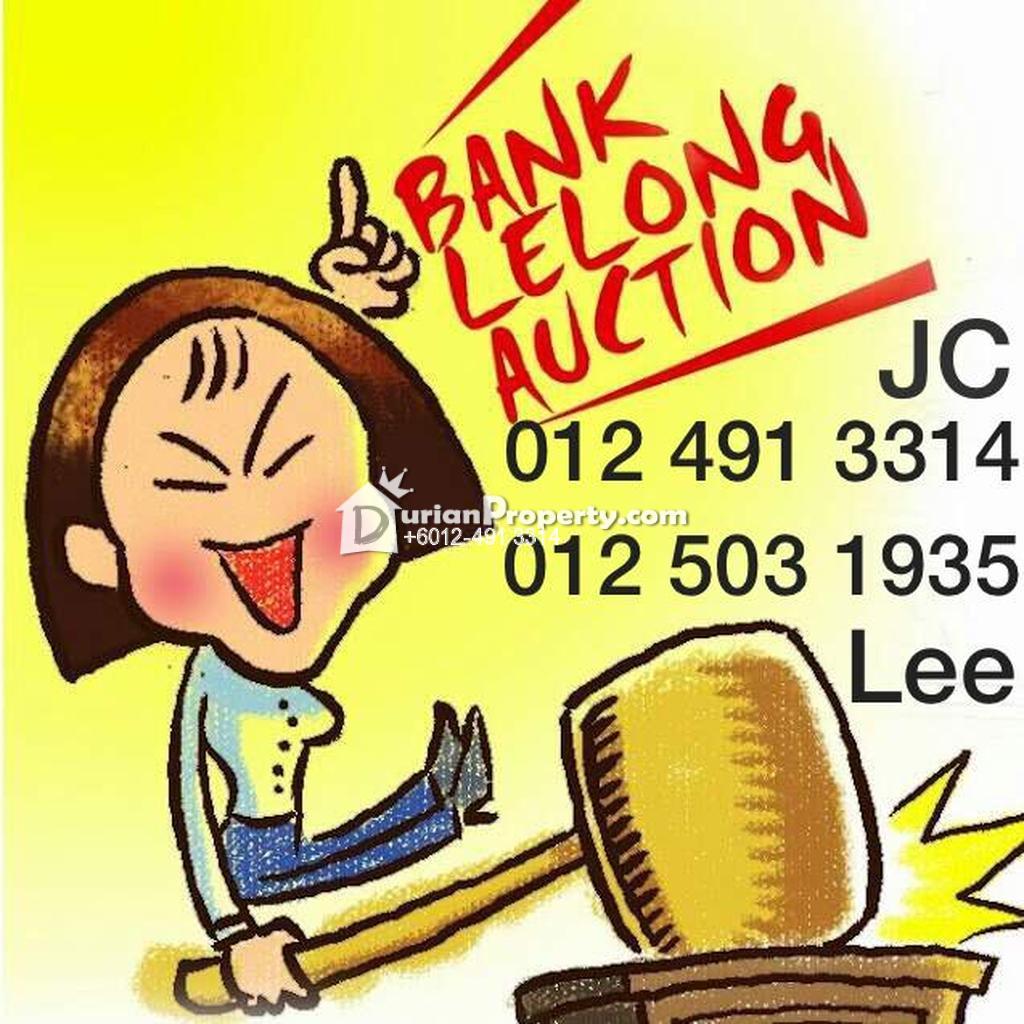 Apartment For Auction at Kemuning Apartment, Taman Bunga Raya