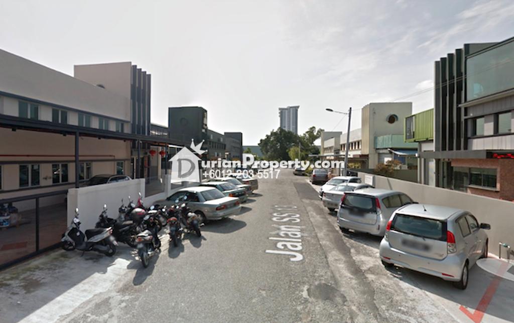 Semi-D Factory For Rent at Subang Jaya Industrial Estate, Subang Jaya