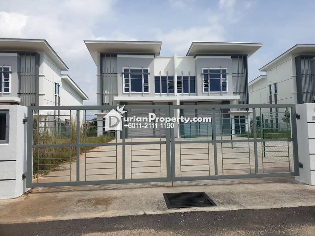 Semi-D Factory For Sale at Taman Tasik Utama, Ayer Keroh