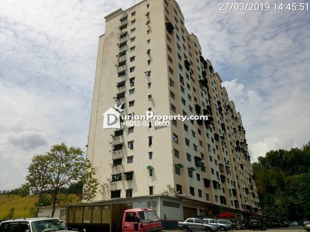 Apartment For Auction at Taman Selayang Mulia, Batu Caves