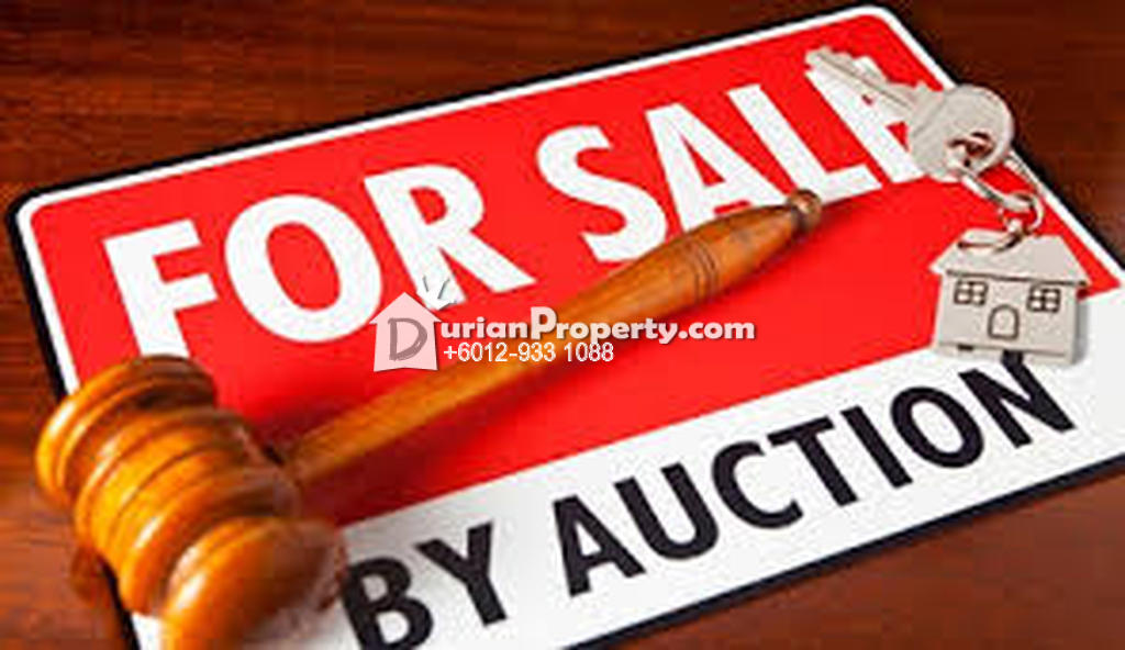 Townhouse For Auction at Taman Lagenda Mas, Cheras South
