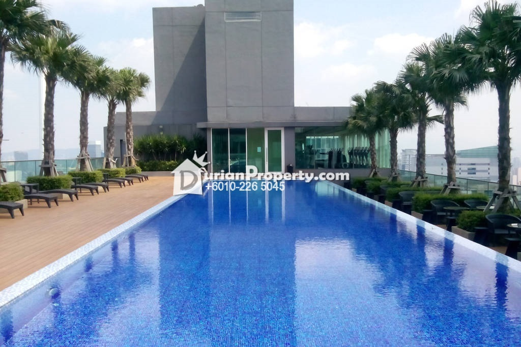 Condo For Rent at Vipod Residences, KLCC