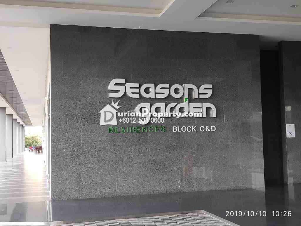 Apartment For Auction at Seasons Garden, Wangsa Maju