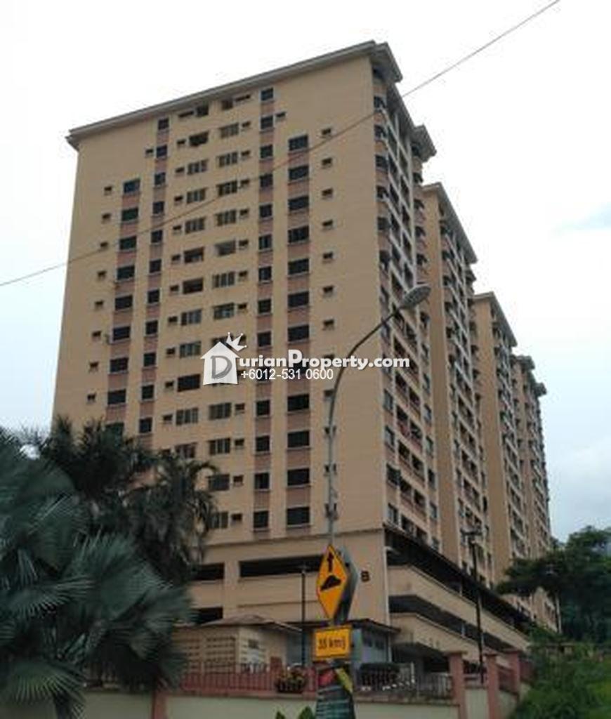 Condo For Auction at Putra Villa, Taman Melati