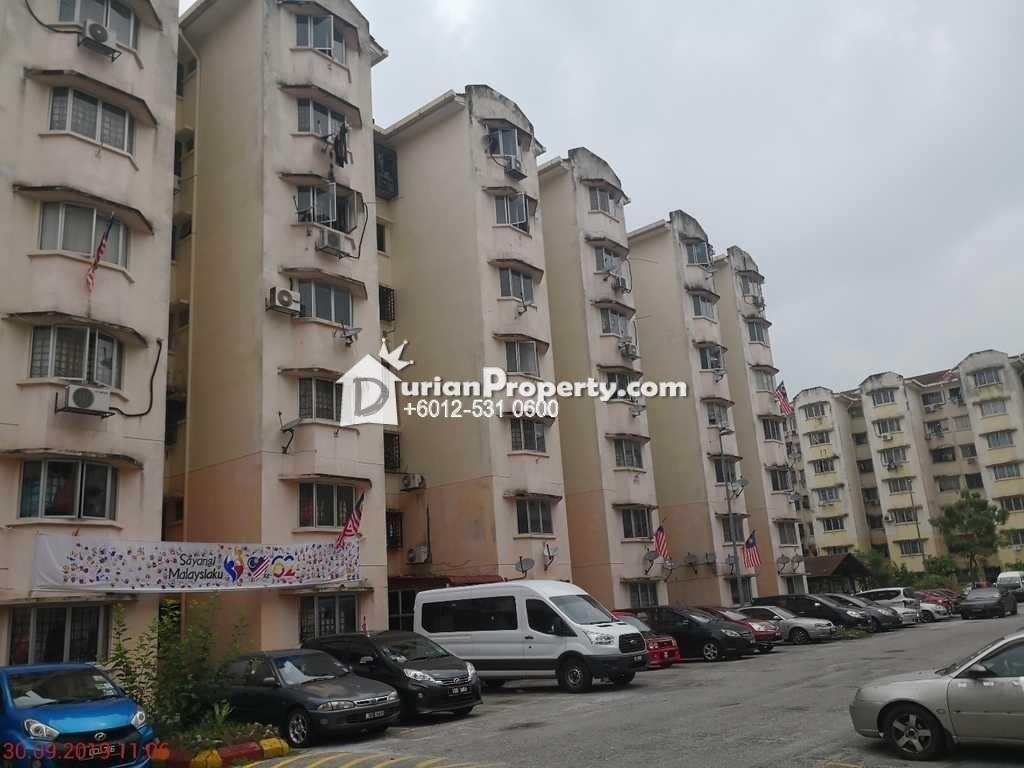 Apartment For Auction at Subang Suria Apartment, Shah Alam
