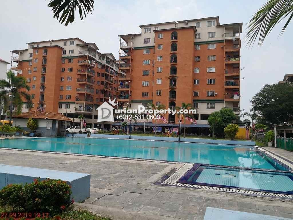 Apartment For Auction at Golden Villa, Taman Sentosa Perdana