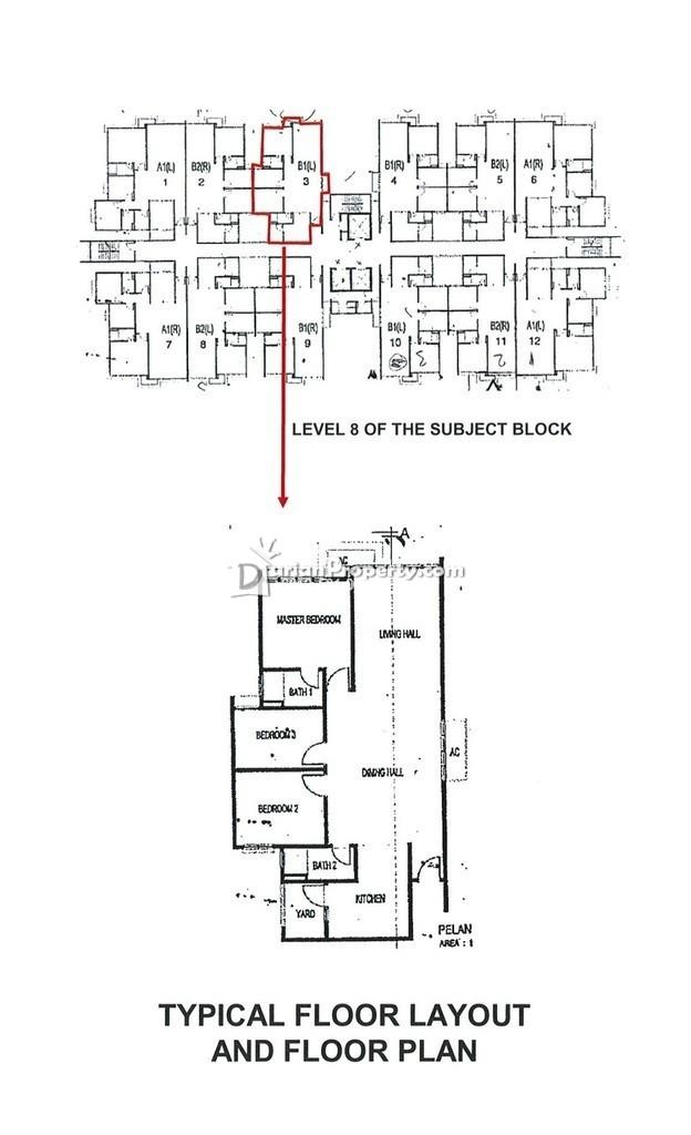Apartment For Auction at Vista Alam, Shah Alam