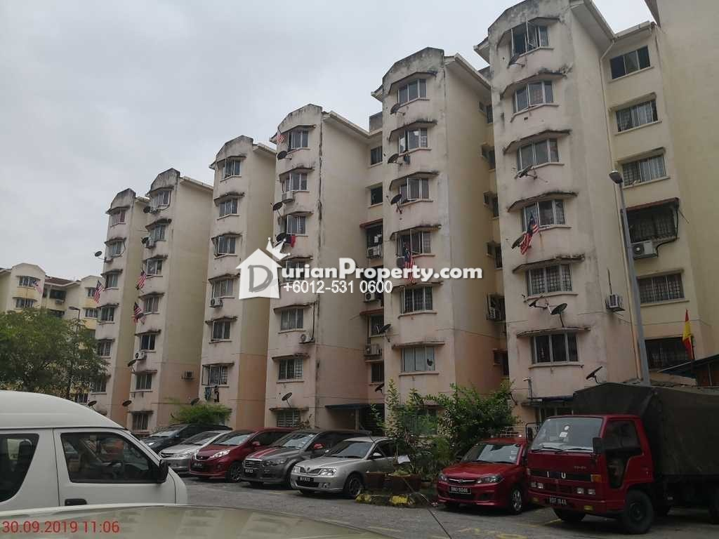 Apartment For Auction at Subang Suria Apartment, Shah Alam
