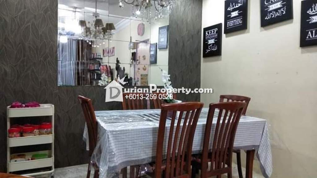 Apartment For Sale at Sri Melor Apartment, Ukay