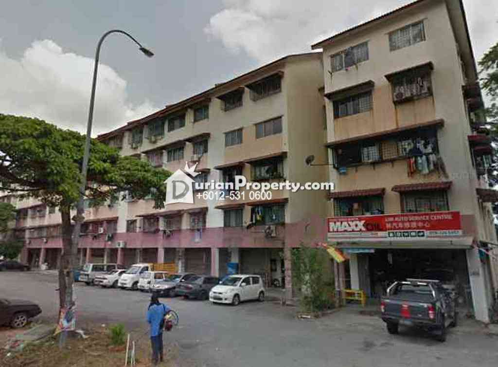 Apartment For Auction at Pangsapuri Barat, Taman Bukit Serdang