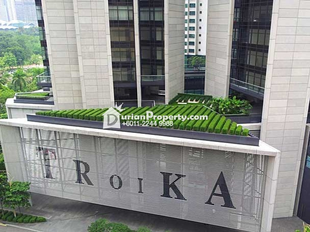 Serviced Residence For Rent at The Troika, KLCC