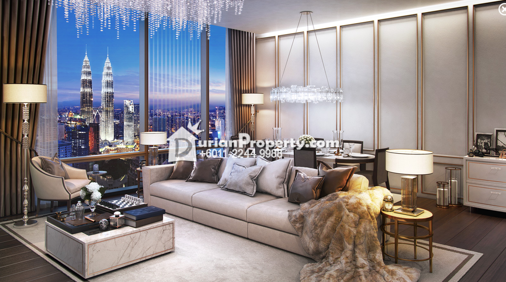 Serviced Residence For Rent at Pavilion Suites, Bukit Bintang