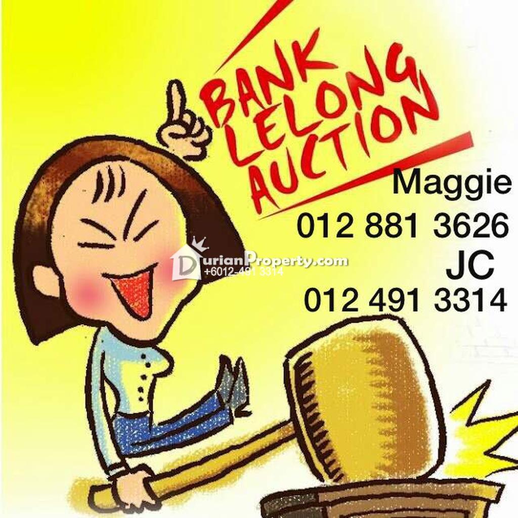 Condo For Auction at Mutiara Residence, Seri Kembangan