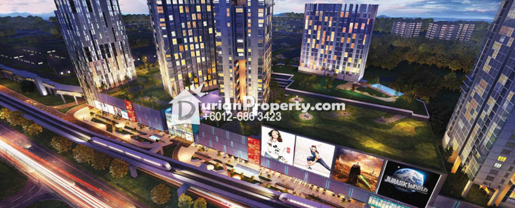 Condo Duplex For Rent at Eko Cheras, Cheras