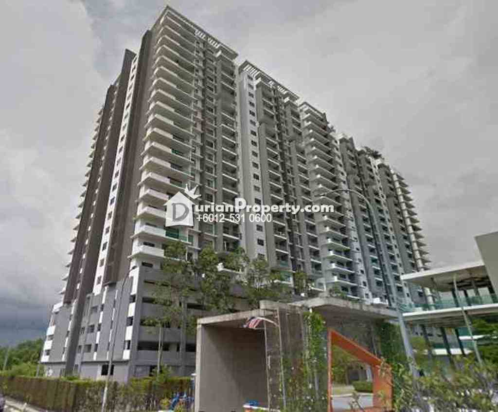 Condo For Auction at X2 Residency, Puchong