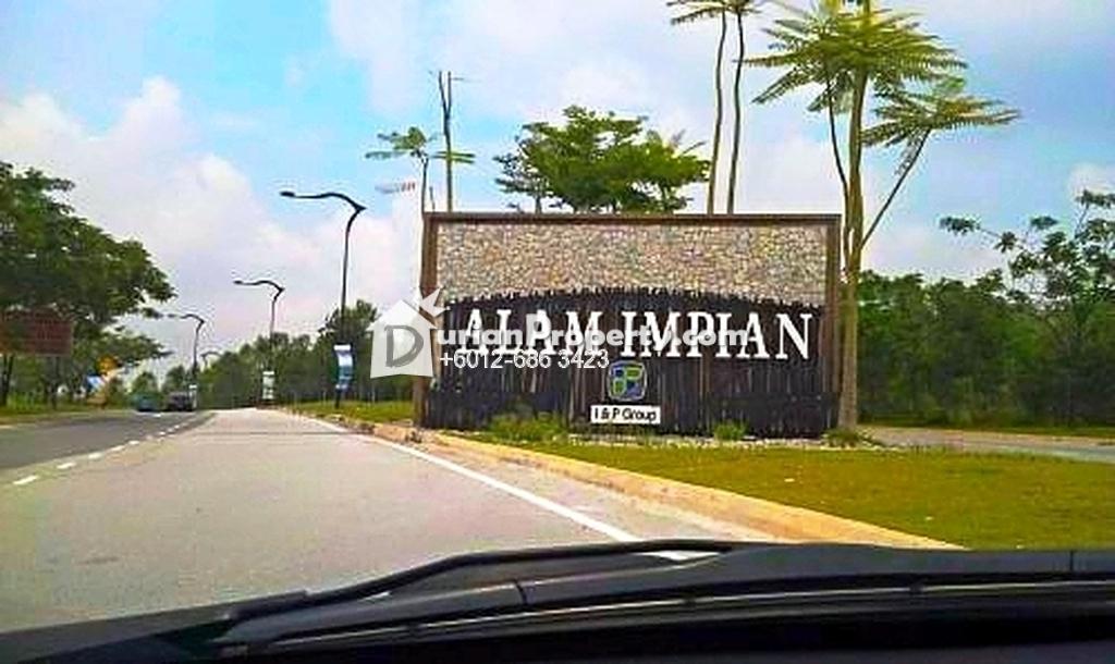 Terrace House For Sale at Nukilan, Alam Impian