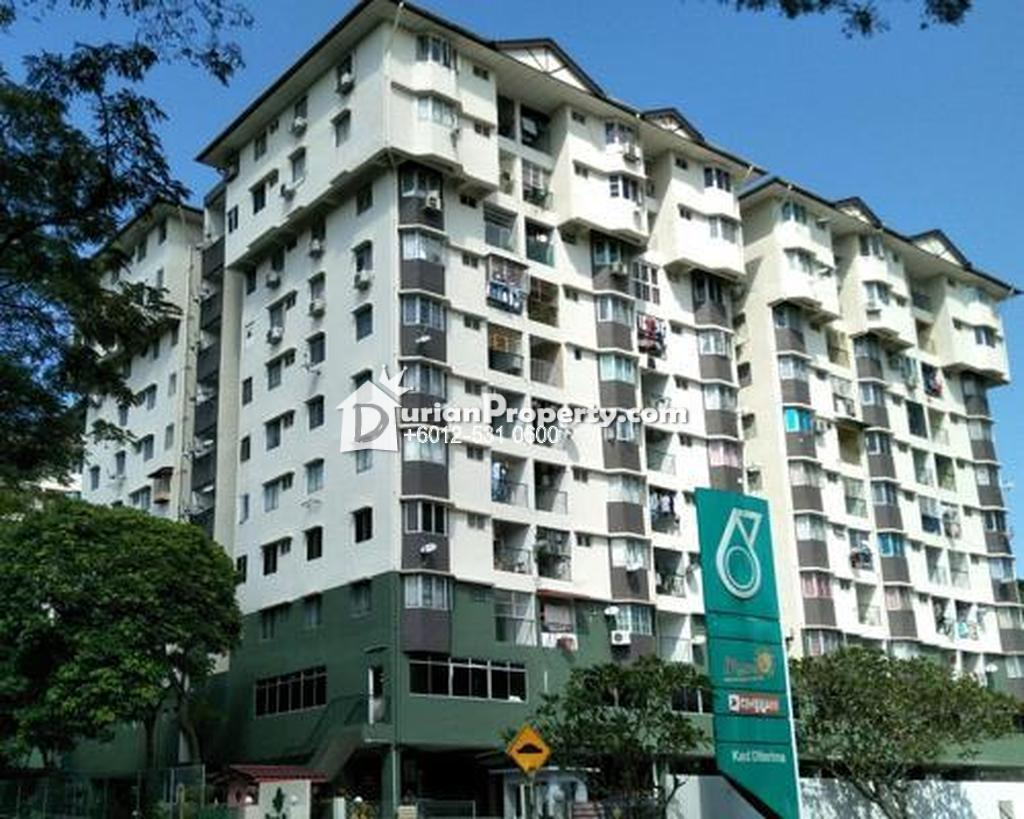 Apartment For Auction at Hijau Ria Apartment, Taman Kepong Indah