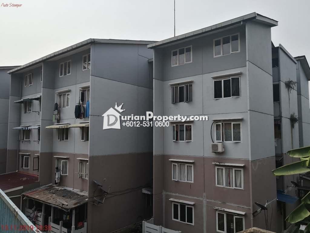 Flat For Auction at Kelumpuk Bunga Raya, Taman Setiawangsa