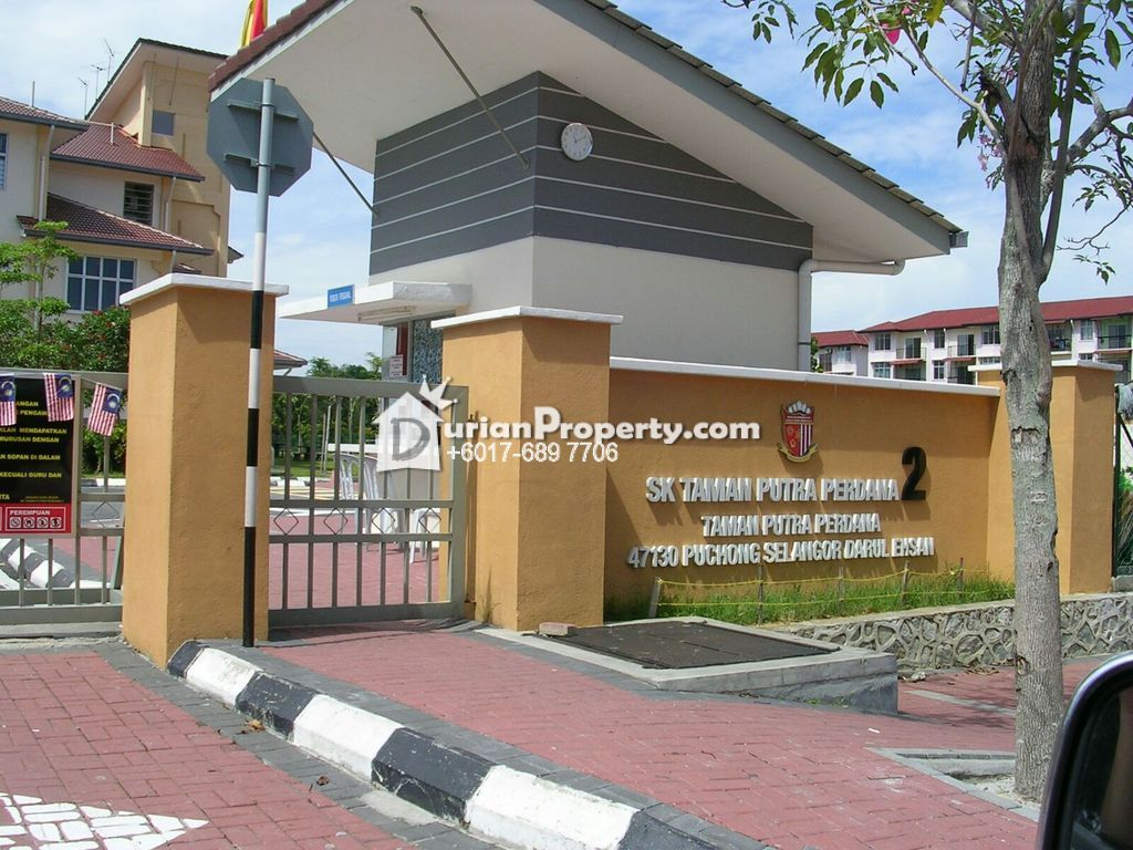 Apartment For Rent at Teratai Apartment, Taman Putra Perdana