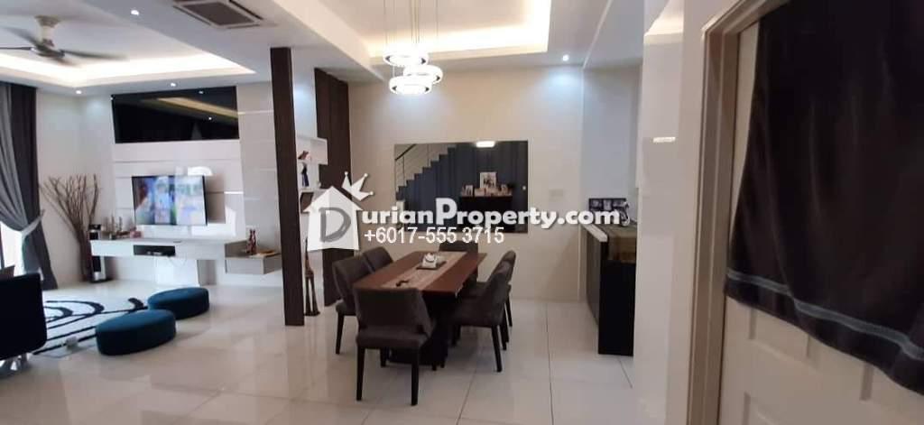Terrace House For Sale at Casa Residence, Bandar Mahkota Cheras