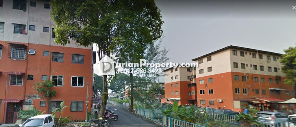 Flat For Sale at Flat Subang Perdana, Subang