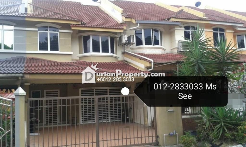 Terrace House For Sale at Taman Sri Putra Mas, Sungai Buloh